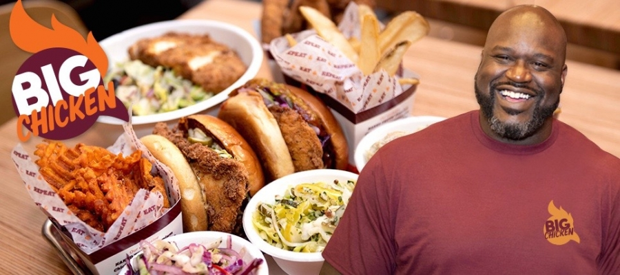 shaq open�s �big chicken� on the carnival radiance